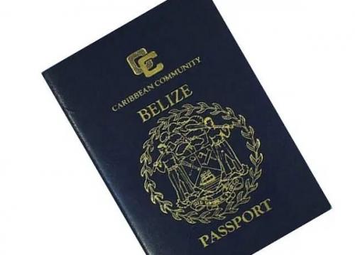 Паспорт Белиза