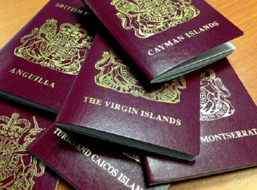 Паспорта британских оффшоров