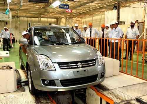 Завод Suzuki в Пакистане