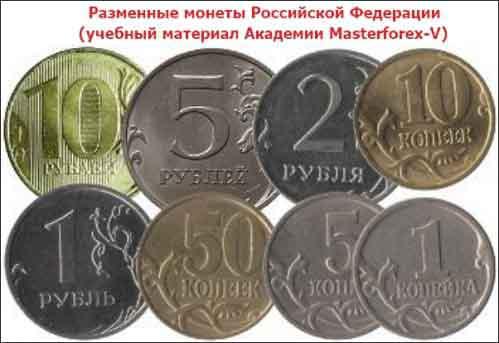 Разменные монеты Российской Федерации