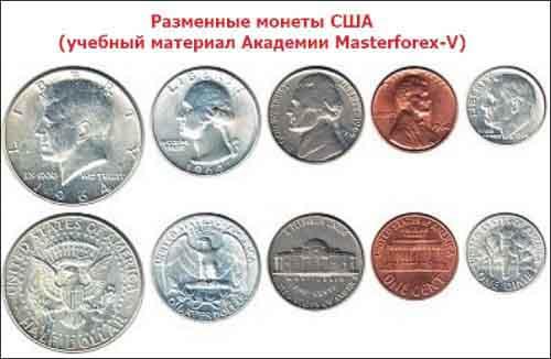 Разменные монеты США