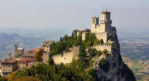 Крепость Гуайта, Сан-Марино