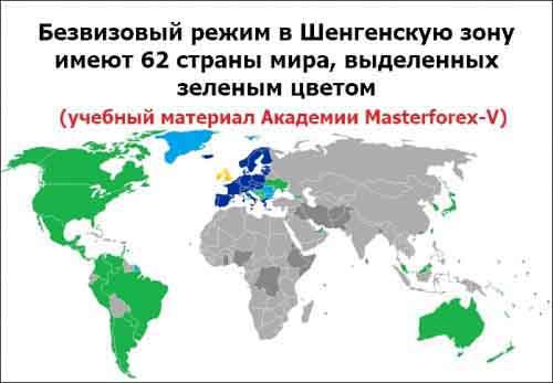 Визовая политика Сан-Марино и шенгенской зоны