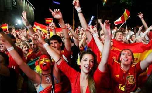 Молодежь Испании