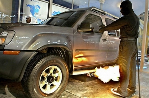 Автомобильный огнемет, ЮАР