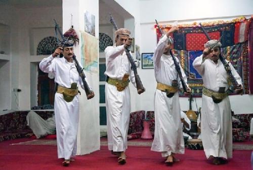 Йеменцы в национальном одеянии
