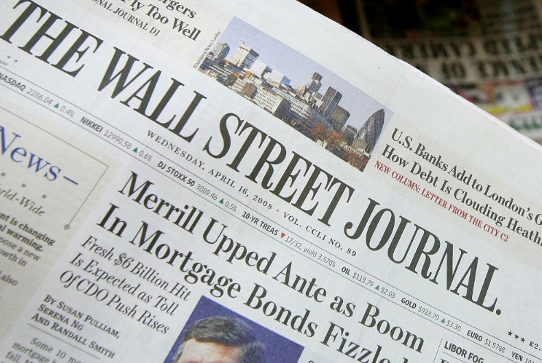 The Wall Street Journal: как СМИ формирует тренды на рынках